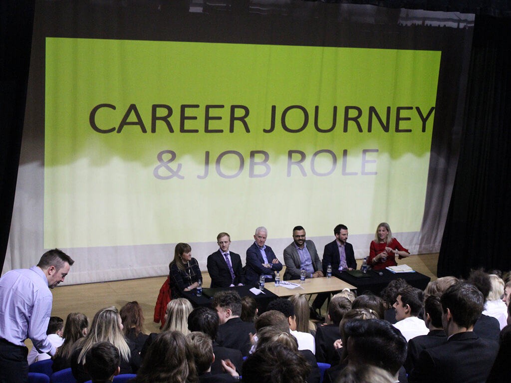 Ahead Partnership Careers Panel, Bradford Voluntary work